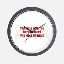 Mess With Berger Wall Clock