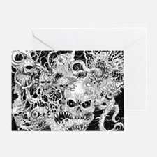 Cool Horror Greeting Card