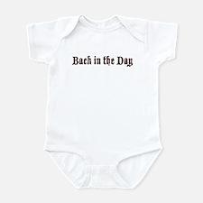 Back in the day Infant Bodysuit