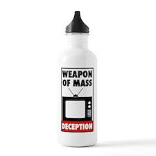TV - Weapon of Mass Deception Water Bottle