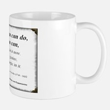 (Success - Goethe - A) Mug