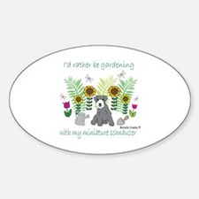 gardening with my dog Decal