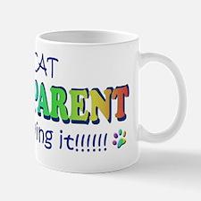 cat grandparents and loving it Mug