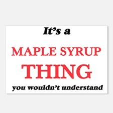It's a Maple Syrup th Postcards (Package of 8)