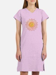Decorative Sun Women's Nightshirt
