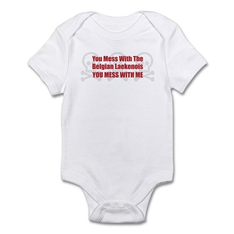 Mess With Laekenois Infant Bodysuit