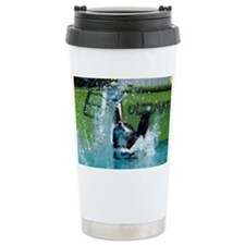 Hold your breath and go Travel Mug