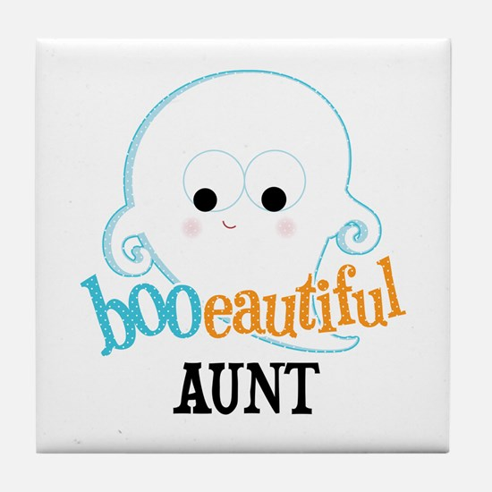 Booeautiful Aunt Tile Coaster