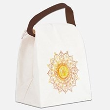 Decorative Sun Canvas Lunch Bag