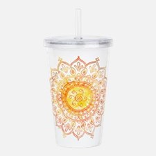 Decorative Sun Acrylic Double-wall Tumbler