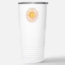 Decorative Sun Travel Mug