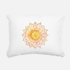 Decorative Sun Rectangular Canvas Pillow