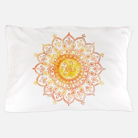Decorative Sun Pillow Case