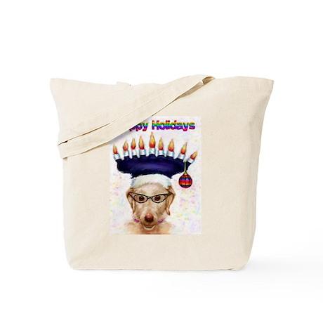 Kool Happy Holiday Dog Tote Bag