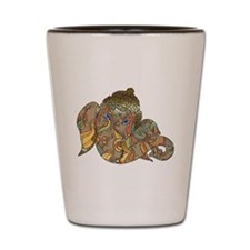 Ganesha Print Shot Glass