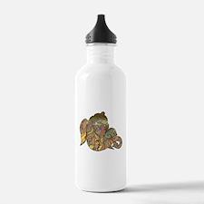Ganesha Print Water Bottle