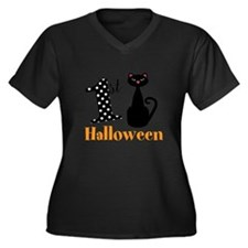 1st Halloween Cat Plus Size T-Shirt