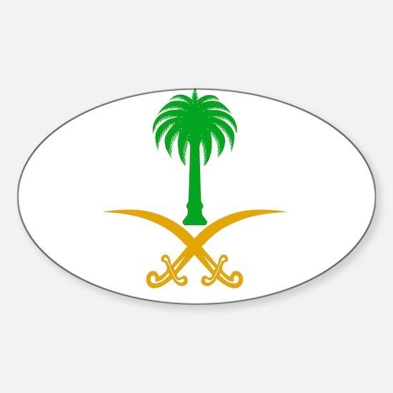 Unique Saudi arabia Sticker (Oval)