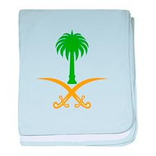 Cute Saudi arabia baby blanket