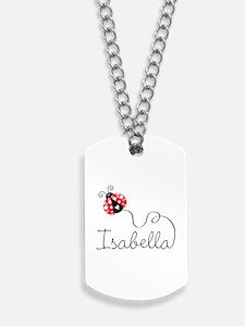 Ladybug Isabella Dog Tags