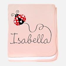 Ladybug Isabella Infant Blanket