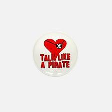TALK LIKE A PIRATE Mini Button (10 pack)