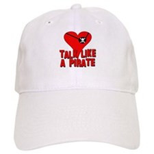 TALK LIKE A PIRATE Baseball Cap