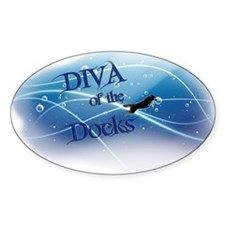 Diva Of The Docks Decal