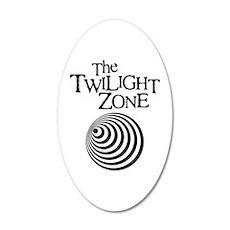 Twilight Zone 38.5 x 24.5 Oval Wall Peel