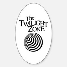 Twilight Zone Oval Decal