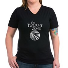 Twilight Zone Women's Dark V-Neck T-Shirt