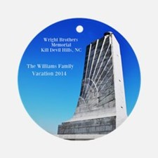 Wright Brothers Memorial Ornament (round)