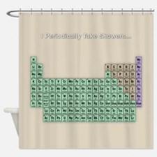 Periodically Shower Shower Curtain
