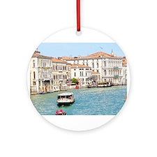 Transportation the Venice Way Ornament (Round)