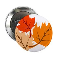 "Fall Leaves 2.25"" Button (10 pack)"
