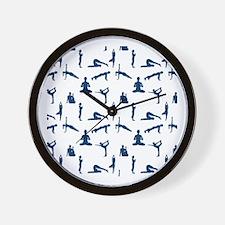 Unique Yoga Wall Clock