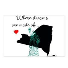 New York...where dreams are made of Postcards (Pac