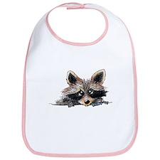 Pocket Raccoon Bib