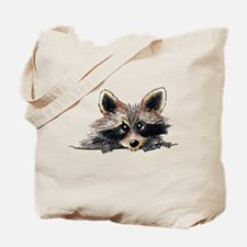 Pocket Raccoon Tote Bag