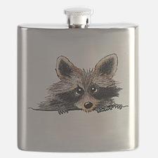 Pocket Raccoon Flask
