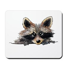 Pocket Raccoon Mousepad