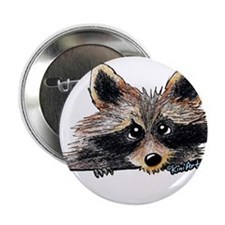 """Pocket Raccoon 2.25"""" Button (10 pack)"""