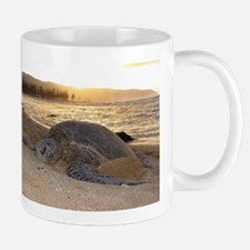 Honu at Sunset Mug