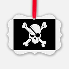 Jolly Roger Pirate Flag Ornament