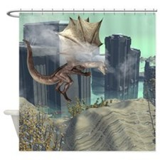 Flying dragon Shower Curtain