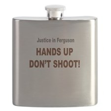 Hands Up Don't Shoot Flask