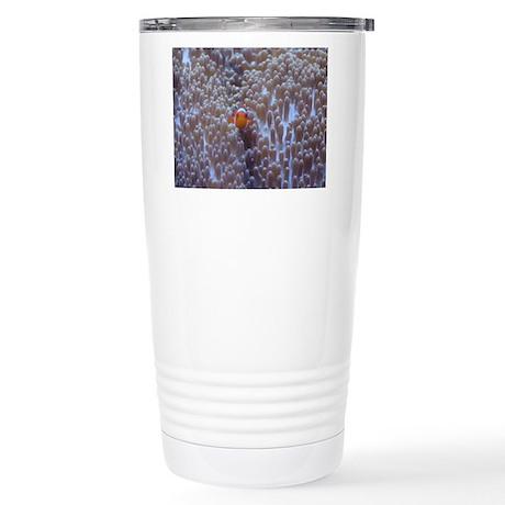 Clownfish & Anemone Stainless Steel Travel Mug