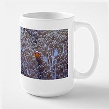 Clownfish & Anemone Large Mug