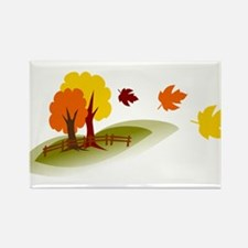 Fall trees Magnets