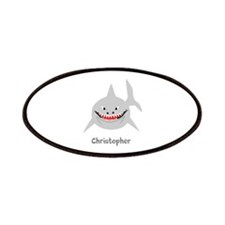 Personalized Shark Design Patches